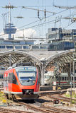 Commuter Train in Germany Stock Image