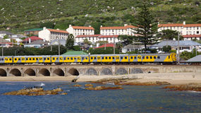Kalk Bay Harbour Beach Royalty Free Stock Photography