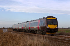 Commuter train service Royalty Free Stock Image