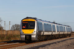 Commuter train to Oxford Stock Photos