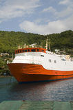 Commuter transport ferry bequia st. vincent Stock Photo