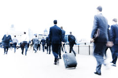 Commuters City Life Rush Hour Forward Concept Stock Photos