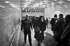 Commuters Grand Central Royalty Free Stock Photography