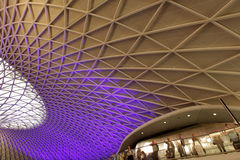 Commuters at the Kings Cross Station Stock Image