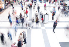 Commuters at Liverpool St Station Stock Photography