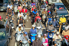 Commuters in Taipei - Taiwan Stock Images
