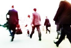 Commuters Way Work Business City Concept Royalty Free Stock Photos