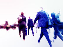 Commuters Way Work Rush Hour Forward Concept Royalty Free Stock Photo