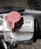 Commutez la moto de contrôle Photos libres de droits