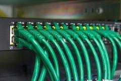 Commuti si collegano alla telecomunicazione del mondo Fotografie Stock