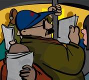 commuting Foto de archivo libre de regalías