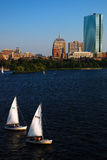 Commuty Boating, Boston Royalty Free Stock Photo