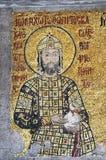 comnenus皇帝hagia ii伊斯坦布尔约翰・索非亚 库存图片