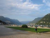 Como озера Итали стоковая фотография rf