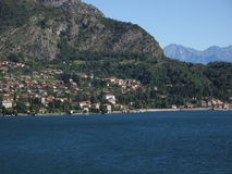 Como. Great Landscape photo of the Lake Como Royalty Free Stock Photo