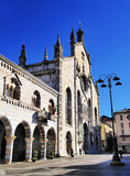 Como. Cathedral in Como, Lombardy, Italy Stock Image