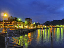 Como. Lake in Lombardy, Italy Royalty Free Stock Photo
