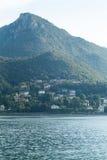 湖Como 免版税图库摄影