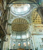 Como Altar and ceiling stock photos