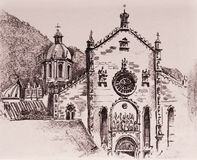 Como Cathedral Stock Photo
