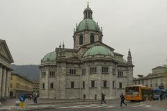 Como Cathedral, Italy royalty free stock photo
