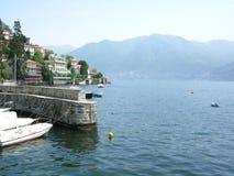 Como celeb yachts and villas royalty free stock photography