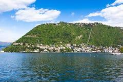 Como city and lake near Milan in Italy. Como city and lake near Milan - Italy Stock Photos
