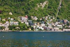 Como city and lake near Milan in Italy. Como city and lake near Milan - Italy Stock Image
