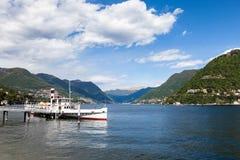 Como city and lake near Milan in Italy. Como city and lake near Milan - Italy Royalty Free Stock Photos