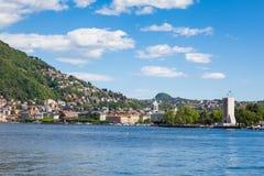 Como city and lake near Milan in Italy. Como city and lake near Milan - Italy Stock Images