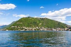 Como city and lake near Milan in Italy. Como city and lake near Milan - Italy Royalty Free Stock Image