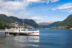 Como city and lake near Milan in Italy. Como city and lake near Milan - Italy Royalty Free Stock Photography