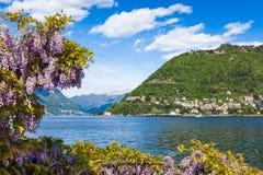 Como city and lake near Milan in Italy. Como city and lake near Milan - Italy Stock Photography