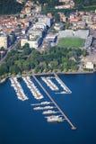 Como City in Lombardy, Italy Royalty Free Stock Photos
