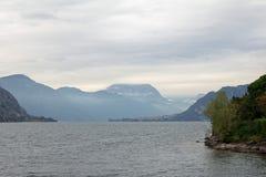 Como del lago - Lecco Fotografia Stock Libera da Diritti
