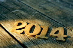 2014, como el Año Nuevo Fotos de archivo