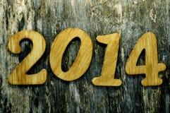 2014, como el Año Nuevo Foto de archivo libre de regalías