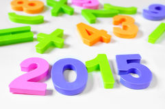 2015, como el Año Nuevo Fotografía de archivo libre de regalías