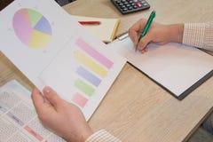 Como estabelecer uma empresa de pequeno porte Imagens do gráfico de negócio Imagens de Stock
