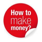 Como etiqueta do dinheiro do tomake ilustração royalty free