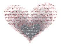 ?como faz o Valentim do poema do thee do amor de i? ilustração royalty free