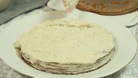 Como fazer o bolo do crepe do oreo filme