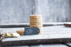 Como fazer o dinheiro toned imagem de stock royalty free