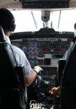 Como fazer o vôo Foto de Stock Royalty Free