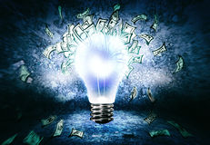 Como ganhar o dinheiro? Imagem de Stock