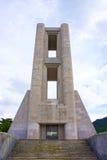 Como, Italië - Mei 01, 2017: Monumentoai Caduti oorlogsgedenkteken door rationalistarchitecten Antonio Sant Elia en Giuseppe Royalty-vrije Stock Afbeeldingen
