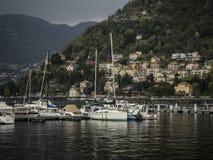 Como in Italien Stockfotos