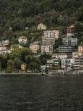 Como in Italien Lizenzfreies Stockfoto