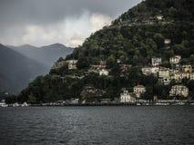 Como in Italien Lizenzfreie Stockbilder