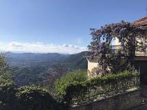 Como in Italien Stockbild